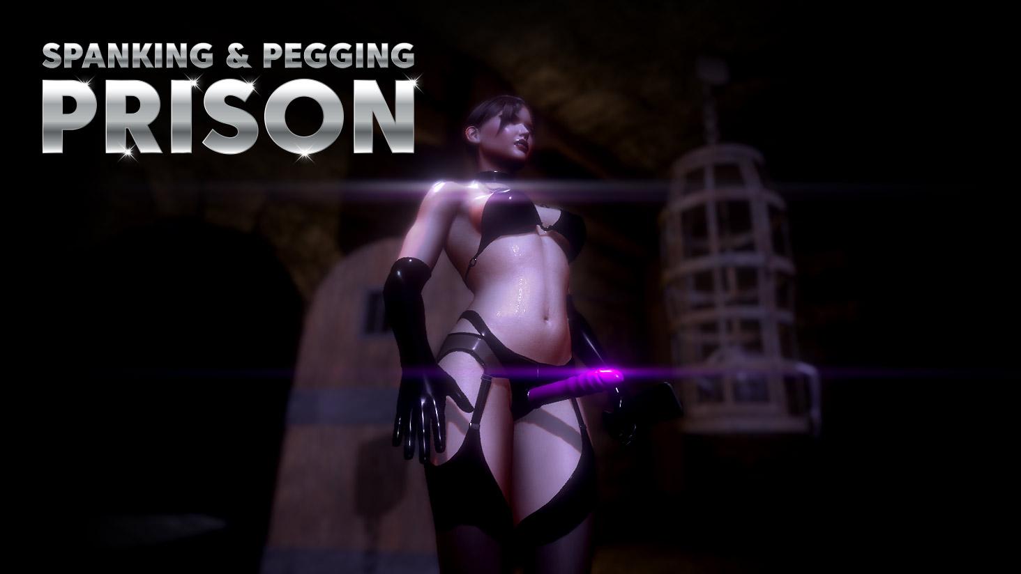 Big tits VR Pegging Femdom Mini-game