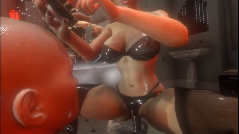 Citor3: VR XXX Game: Stim Femdom With Big tits vr sex game
